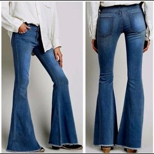 NWT AC for Adriano Goldschmied Bell Bottom Jeans